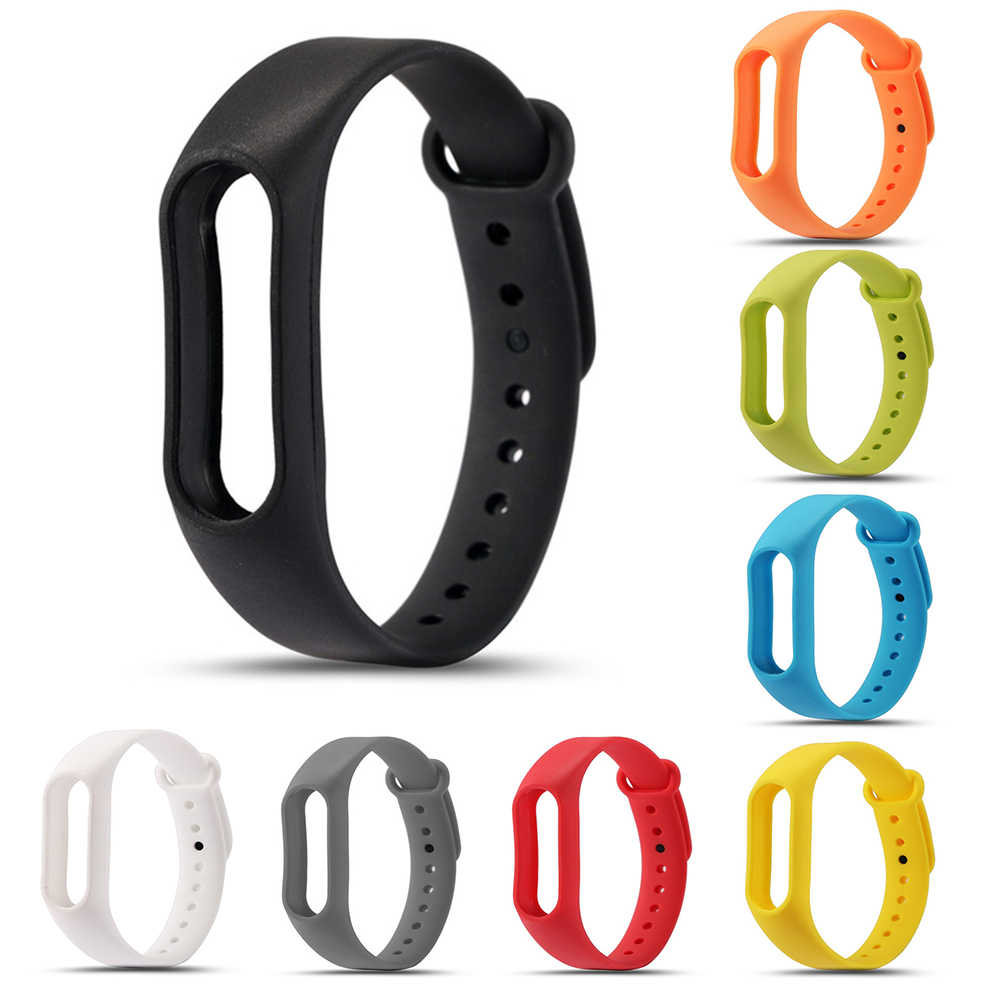 xiomi mi band 2 accessories pulseira miband 2 strap replacement silicone Colorful wriststrap for xiaomi mi band2 smart bracelet