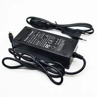 50pcs 36V battery charger Output 42V 2A Charger Input 100 240 VAC Lithium Li ion Charger For 10S 36V Electric Bike