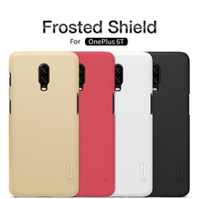 Oneplus 6T Case For Oneplus 6T 3 3T 5 5T 6 One Plus 6 Case NILLKIN Matte Frosted Shield Hard Back Cover with retail package