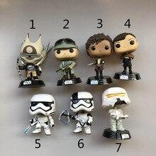 Funko pop Secondhand Star Wars: Solo-Tobias, Val, Range Trooper Виниловая фигурка Коллекционная модель Свободные игрушки подарки