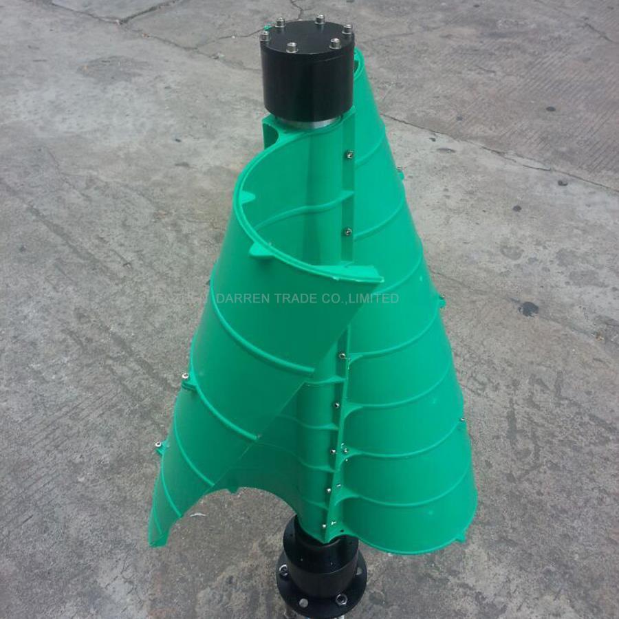 1 PC 100 W générateur de vent vertical axe vertical petit générateur de vent pour les maisons de route générateur de vent de haute qualité