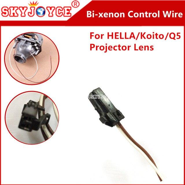 1x original hella projector control wire q5 bi xenon hid projector rh aliexpress com wiring a hella plug Hella 12V Roof Plug