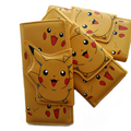Free Shipping Anime Pokemon Pikachu Wallet Kawaii Unisex Women Men Long Style PU Purse Billfold Notecase for Gift