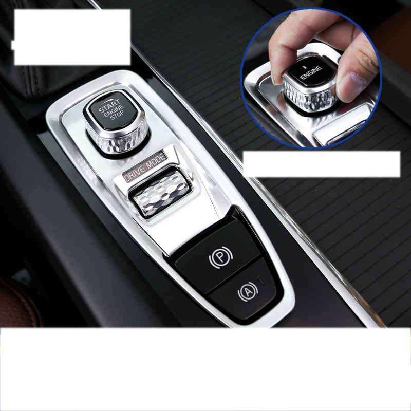 lsrtw2017 wood color abs car Electronic handbrake for volvo xc60 xc90 s90 v90 2017 2018 2019