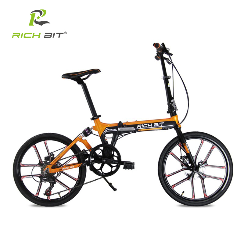 RichBit Mtb ebike 48V 8AH Hidden Battery Folding Electric Bike 7 ...