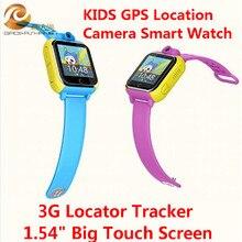 Neue Smart uhr Kinder Armbanduhr Q730 3G GPRS GPS Locator Tracker Anti-verlorene Smartwatch Baby Uhr Mit Kamera für IOS Android