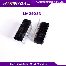 10PCS LM2902N LM2902 DIP14 DIP LM2902P new original