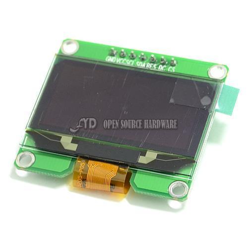 1.54 дюймов I2C IIC SPI Последовательный 128X64 белый OLED LCD LED Дисплей Модуль для