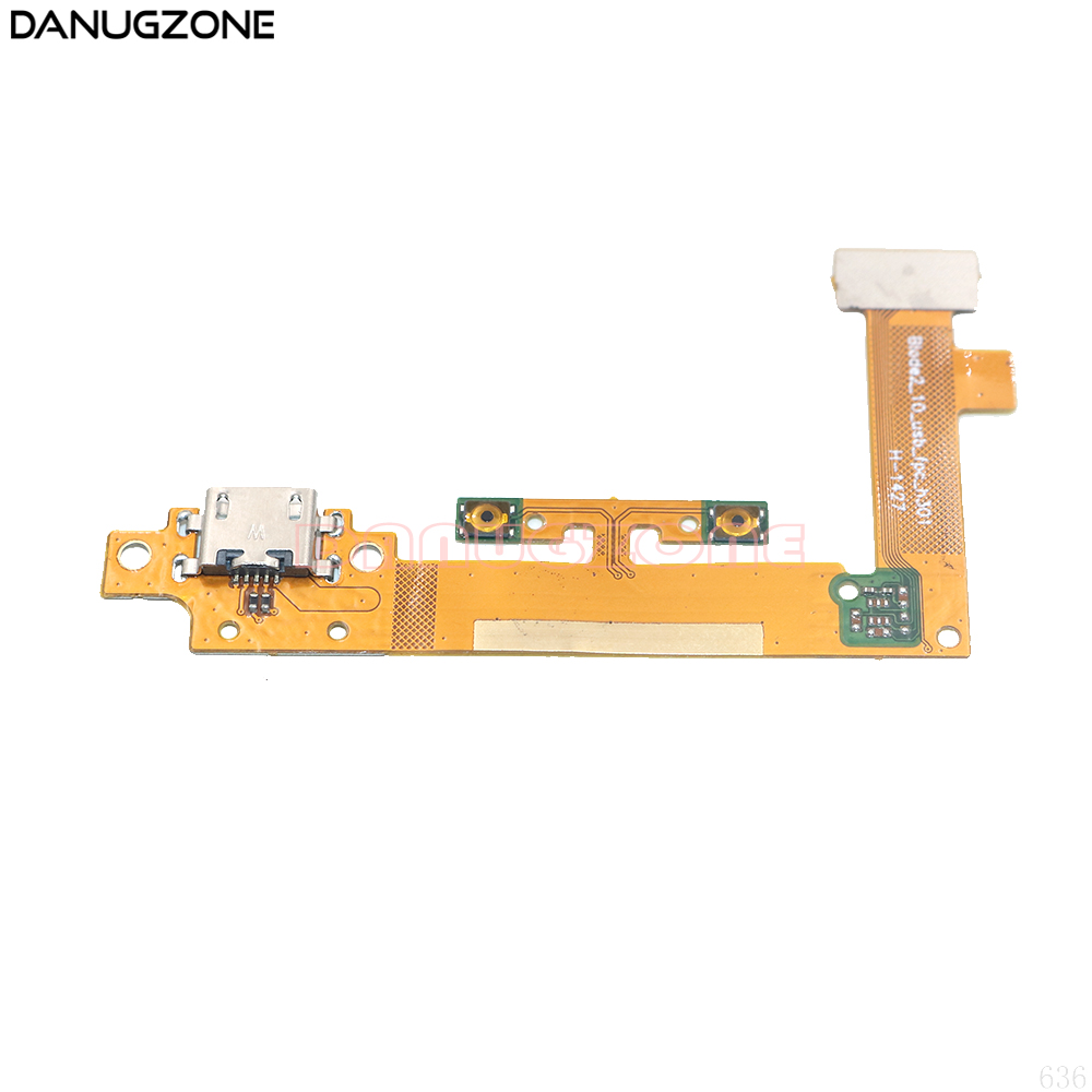 USB Charging Port Dock Plug Socket Jack Connector Charge Board With Volume Button Flex Cable For Lenovo Yoga Tablet 2 1050 1050F