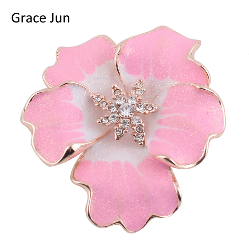 New arrival peony flower brooches for women alloy material enamel new arrival peony flower brooches for women alloy material enamel brooch pin fine jewelry rhinestone rhinestone brooches and pin mightylinksfo