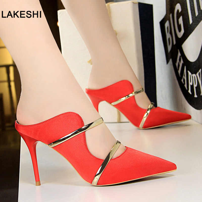 New Women Pumps Women Shoes High Heel Summer Women Sandals Fashion Wedding Shoes Women Sexy Party Shoes Female Shoes Stiletto