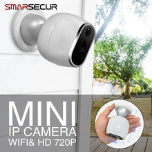 SMARSECUR IP Camera 720P HD WiFi Security Wireless IP Camera Mini Surveillance Cameras