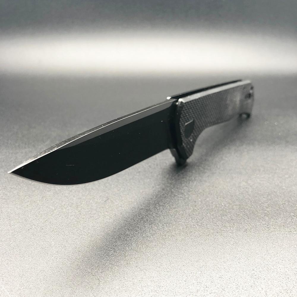 BMT ZT 0804 golyóscsapágy Taktikai hajtogató kés acél G10 Titán - Kézi szerszámok - Fénykép 4