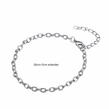 My Shape Link Chain Bracelet Lobster Clasp For DIY Dangle Charms Bracelets Jewelry(China)