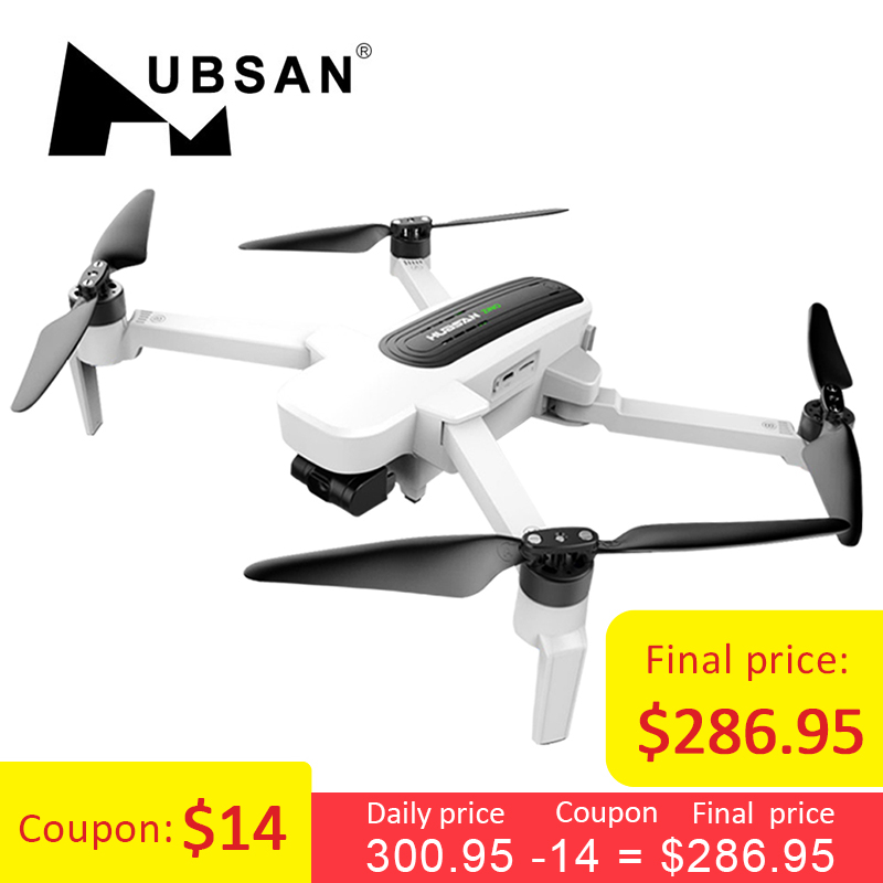 Hubsan H117S Zino GPS 5 8G 1KM Foldable Arm FPV with 4K UHD Camera 3-Axis  Gimbal RC Drone Quadcopter RTF High Speed