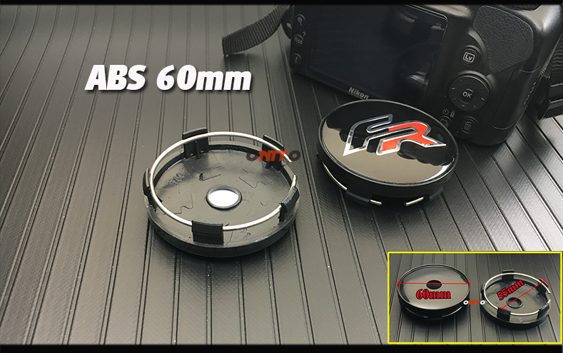 New 4pcs 135mm 64mm 56MM 60mm FR Logo Car Wheel Hub Center decals badge covers for Seat Leon FR Cupra Ibiza Altea Exeo Formula in Wheel Center Caps from Automobiles Motorcycles