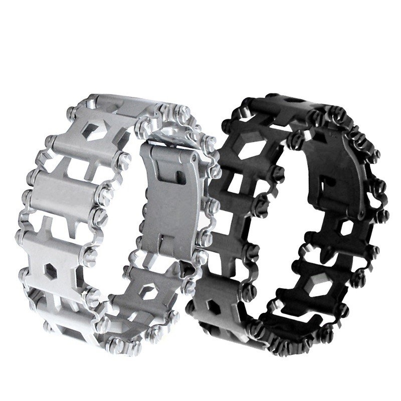 Multi Function EDC Tool Bracelet Hand Catenary 29 Functions Utility Outdoor Multi Tool For Hunting Archery