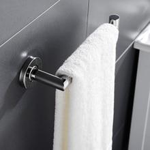 Нержавеющая сталь туалетное полотенце кольцо держатель для рук настенное крепление для ванной комнаты круглый полированный аксессуары для ванной комнаты