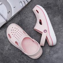 2020ホット販売ブランド女性サンダルスリッパピンク靴eva軽量sandlesユニセックスカラフルな夏ビーチメンズ