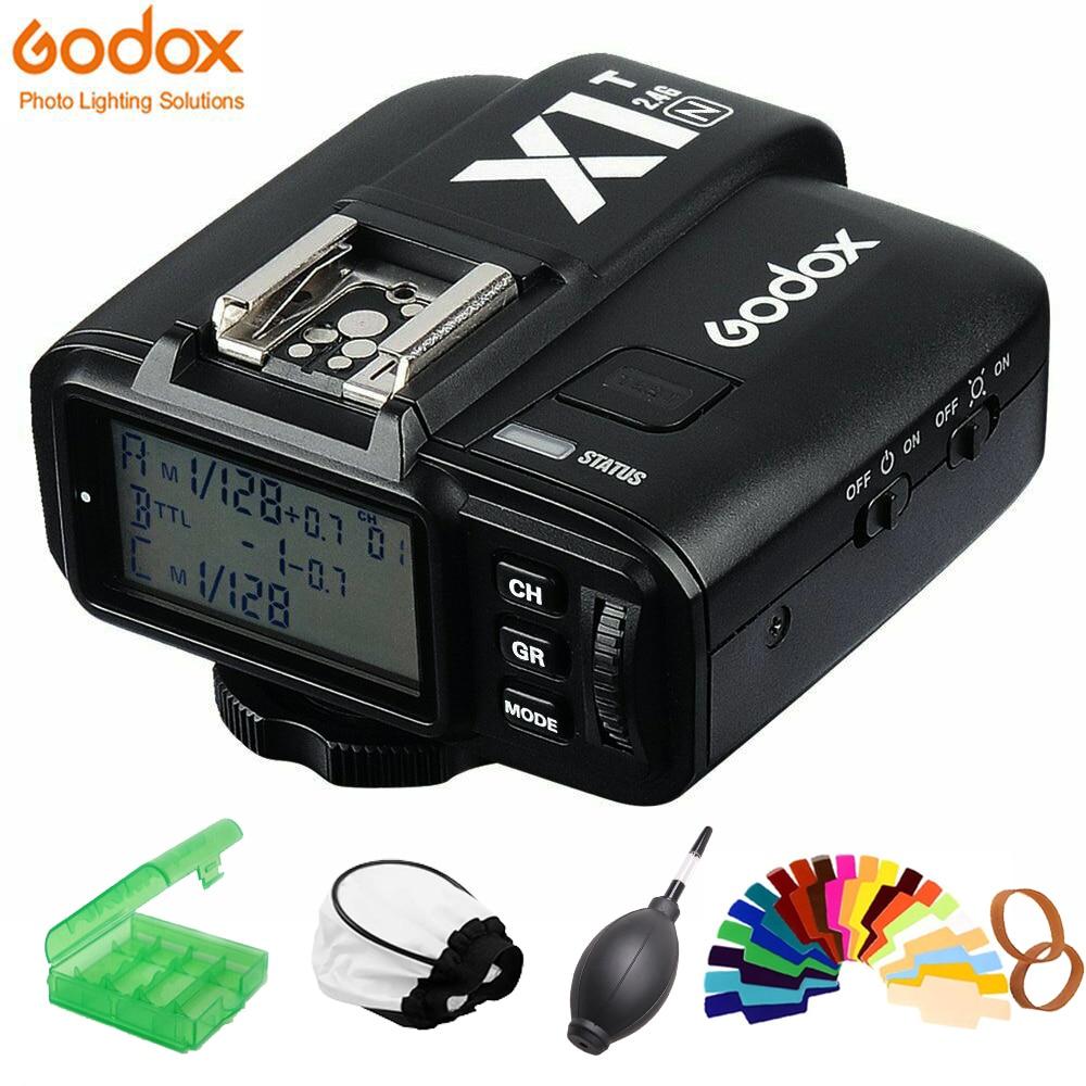 GODOX X1T F X1T C X1T S X1T O X1T N 2 4G Wireless TTL HSS