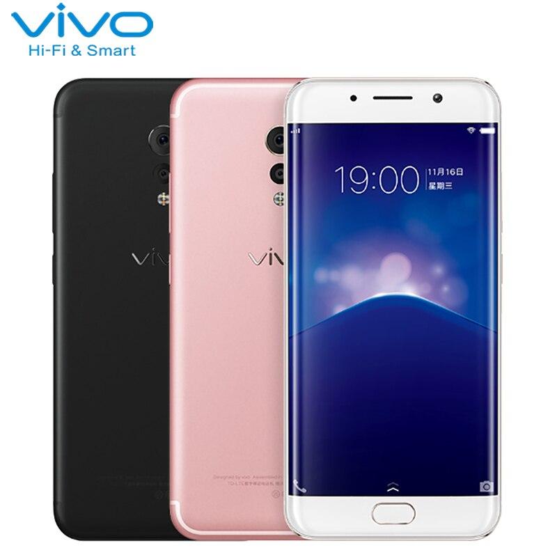 Первоначально Vivo Xplay 6 сотовый телефон 5,46 дюймов 6 ГБ Оперативная память 64 Встроенная память Snapdragon 820 Octa Core Android 6,0 Dual камера 4080 мАч Smartphoone