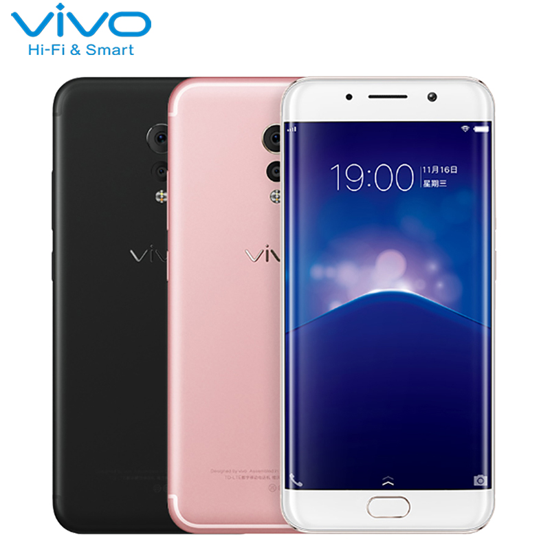 Original Vivo Xplay 6 teléfono celular 5,46 pulgadas 6 GB RAM 64 ROM Snapdragon 820 Octa Core Android 6,0 Doble cámara 4080 mAh Smartphoone