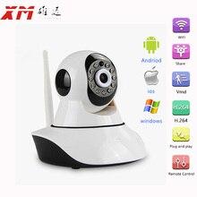 HD Cámara IP Inalámbrica de Red CCTV Onvif Ir-cut de la Visión Nocturna de Grabación de Audio Pan/Tilt P2P Baby Monitor Wifi Cam Seguridad Para El Hogar