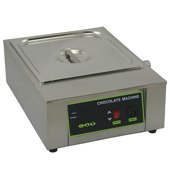8.5kg Chocolate Tempering Machine Chocolate Melting Machine with Single Tank 220V stainless steel electric chocolate tempering machine for sale