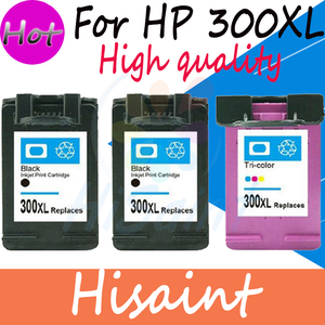 Hisaint 2BK + 1C Dành Cho HP 300 300 XL cho HP300 Mực Máy In Cho MÁY In HP Deskjet C4680 D5560 F2410 f4240 F4480 Mực Máy In