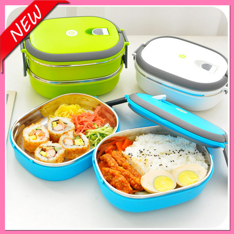 hot sale stainless steel lunch box bento lunch box for kids japanese dinnerware set thermos for. Black Bedroom Furniture Sets. Home Design Ideas