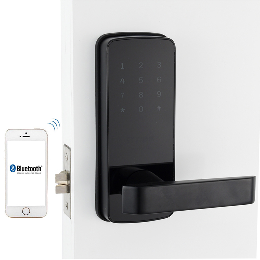Cerradura de puerta cerradura electrónica de muebles puerta inteligente Wifi sin llave Bluetooth cerradura Digital cerradura de puerta inteligente para el hogar y el apartamento