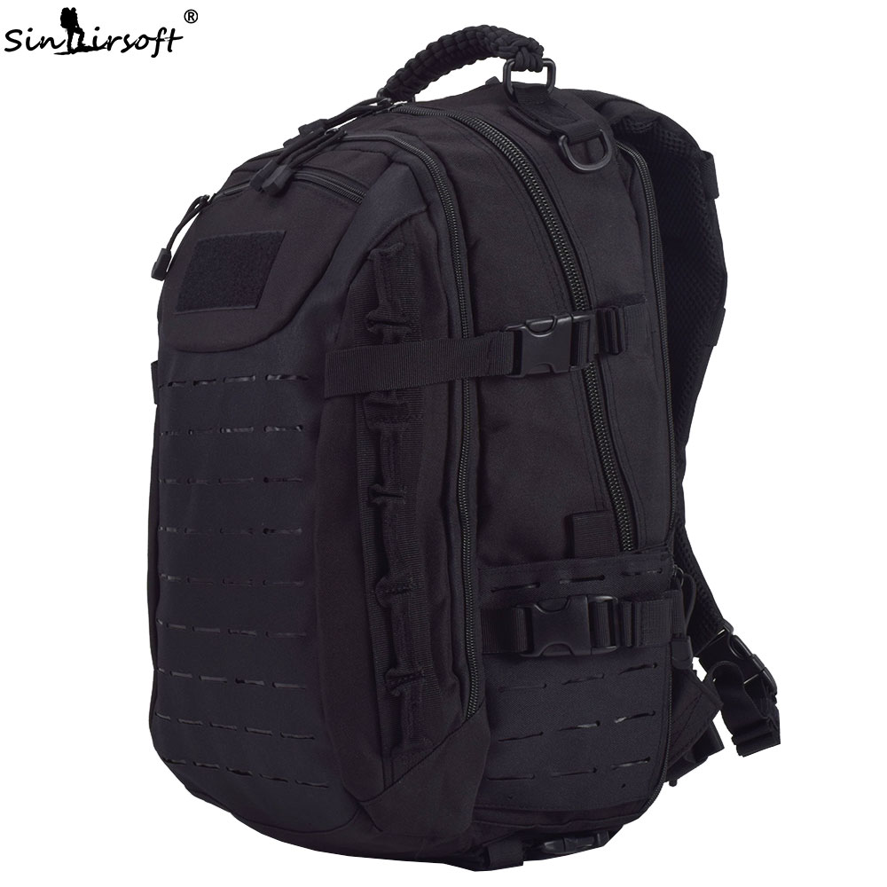 SINAIRSOFT Military Tactical Dragon Egg Backpack 25L Molle System Multi-purpose 15 Inches laptop Rucksack Fishing Camping Bag sinairsoft military tactical backpack 35l rucksack 14 inches laptop fishing molle system backpack trekking bag gear ly0020