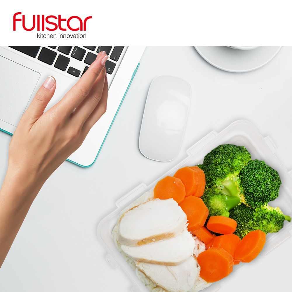 Fullstar Plastic Lunch box for kids acessórios de cozinha recipiente para Microondas alimentos 9 PCS Bonito bento box ferramenta vegetal cozinha
