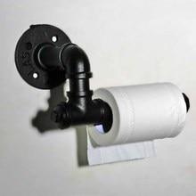 Cadre créatif pour toilettes porte serviettes en papier, porte papier, Bronze pailleté dhuile, porte rouleau de toilettes noir