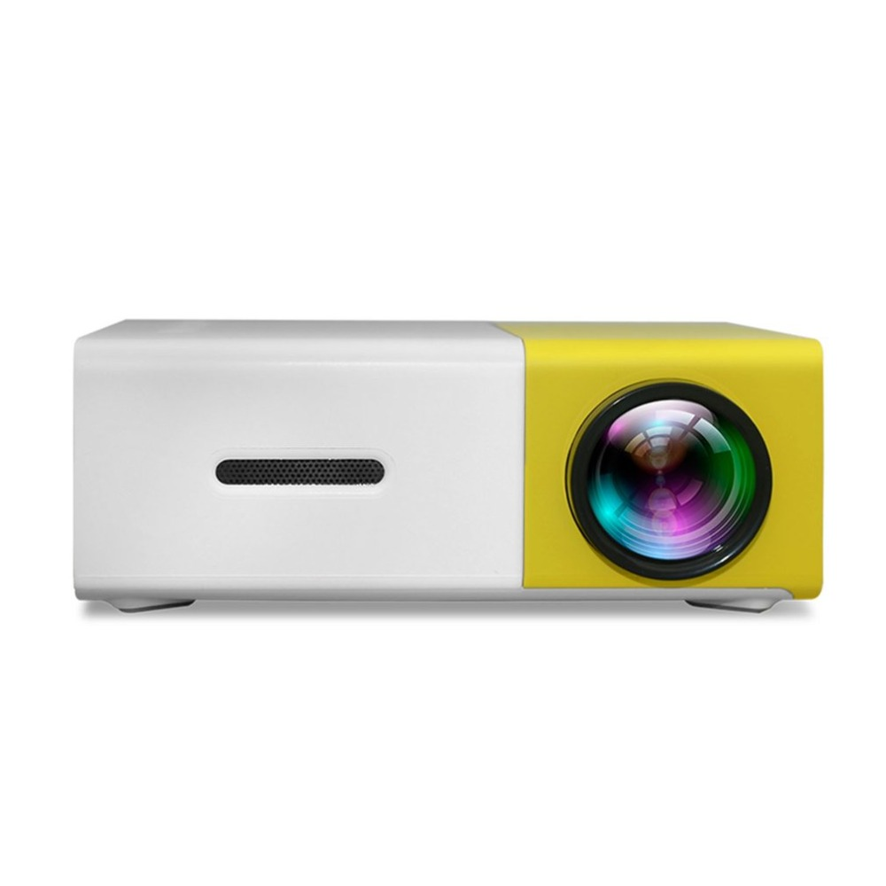 Hot EU Plug LED Mini Home Projector 320*240 HD 1080P HDMI USB Projector Ultra Portable Media Player Beamer Built-in Battery yg 320 mini lcd led 1080p hd projector 400 600 lumens 320 x 240 pixels home video theater media player cinema portable projector