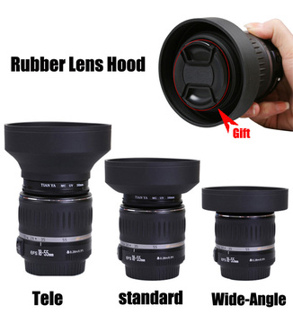 Pixco 52mm Metal Standard Screw in Mount Lens Hood for Canon Nikon Pentax Olympus Sony