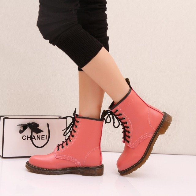 ФОТО Free shipping 2014  summer winter platform fashion boots martin boots motorcycle boots shoes women's