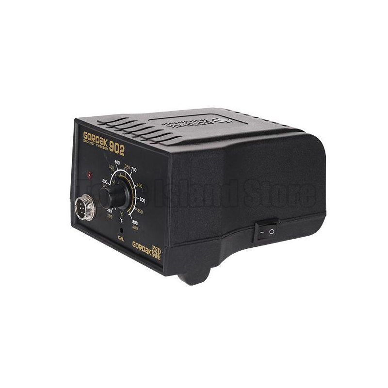 Tools : GORDAK 902 soldering station Repair soldering station electric heating pliers constant heating temperature Tweezers 220V