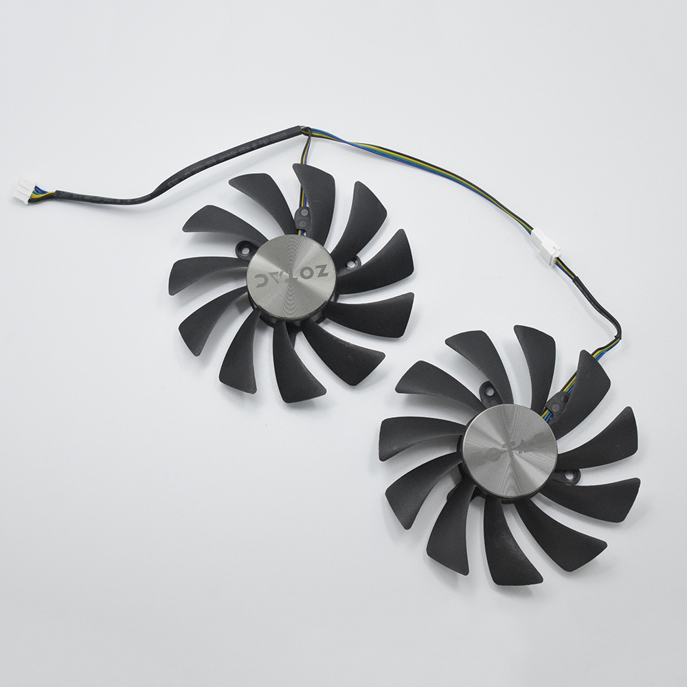 New 95MM Cooler Fan Replacement For ZOTAC GeForce GTX 1070 Ti 1080Ti AMP Edition GPU VGA Graphics Video Card Fan DIY