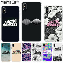 MaiYaCa arctic monkeys Hot Printed Cool Phone Accessories case for iPhone 8 7 6 6S Plus X XS max 10 5 5S SE XR Coque Shell(China)