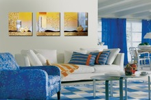3pcs Print poster canvas Wall Art Abstract vase flower series Decoration painting pictures on the wall sitting room frame 41xdzs 490 491 492 3pcs fashion abstract print art