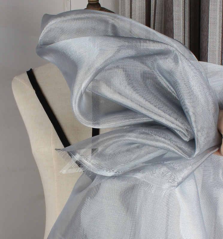 Обнаженная нейлоновая сетка Свадебная тонкая ткань средней твердости 140*100 см