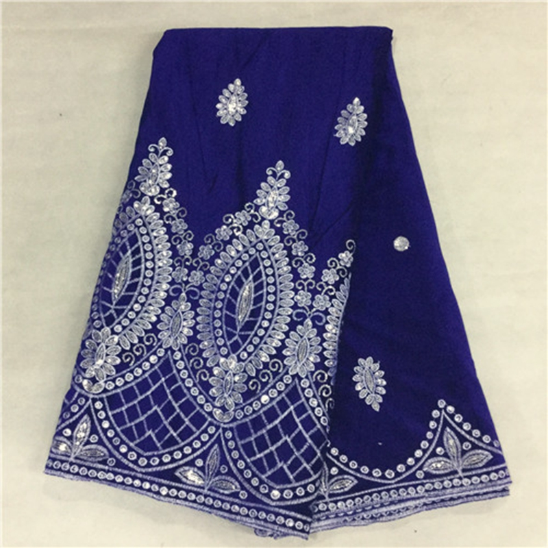 New color factory cheap price royal blue thick african for Cheap clothing material
