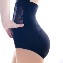 2016 Sexy Women High Waist Bum Padded Panties Butt Hip Enhancer Underwear Knickers Shapewear
