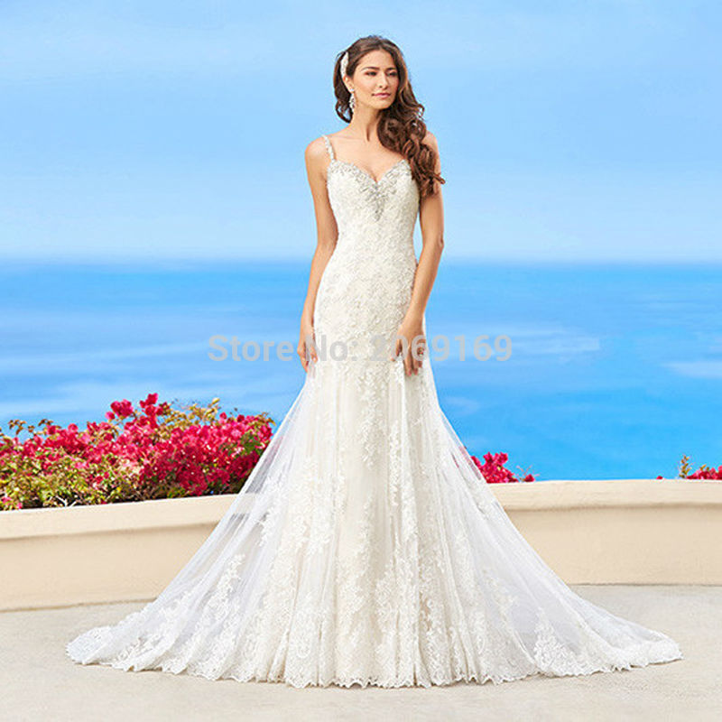 Online Buy Wholesale low back mermaid wedding dress from China low ...