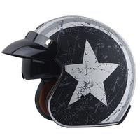 Hot sale TORC T57 vintage motorcycle helmets scooter Vespa helmet open face jet pilot helmets with visor ECE capacete casco moto