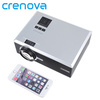 CRENOVA BL88/XPE470 LED Projector For Home Theater Movie Beamer Support Full HD 1080p AV VGA USB SD HDMI TV Video Projector