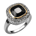 Hot Sale Black onyx 925 Sterling Silver High Quantity Ring For  Women Classic Fashion Jewelry Party Gift Size 6 7 8 9 10 F1459