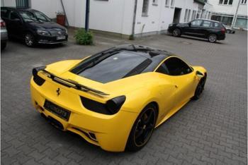 Alerón trasero de fibra de carbono del coche alerón del labio del alerón de la parte trasera del coche para el 458 2011 2012 2013 rápido por EMS