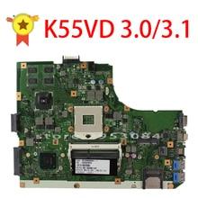 D'origine K55V K55VD Carte Mère pour Asus K55VD r500vd REV3.0/3.1 Carte Mère GT610 2G PGA989 100% Testé Livraison Gratuite